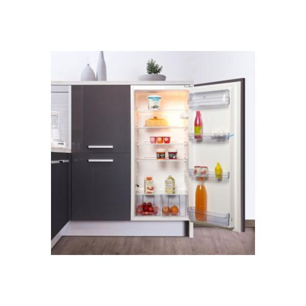 refrigerateur integrable  porte listo rlil froid statique reconditionne